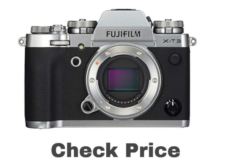 Fujifilm X-T3 Mirrorless Digital Camera (Body Only) - Silver price on amazon - Best camera for photography