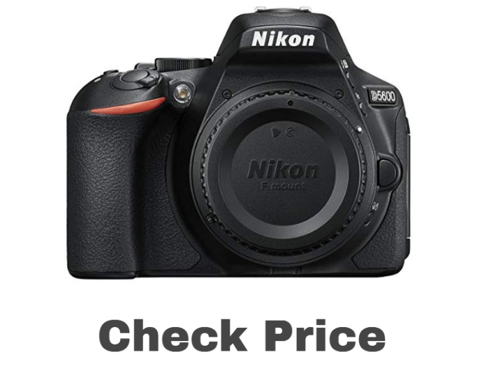 D5600 DX-Format Digital SLR Body price on amazon - Best camera for photography
