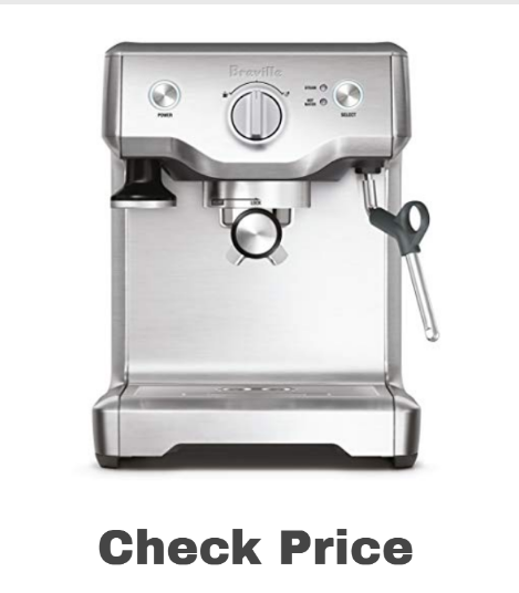BREVILLE BES810BSS Duo  on amazon - best espresso machines