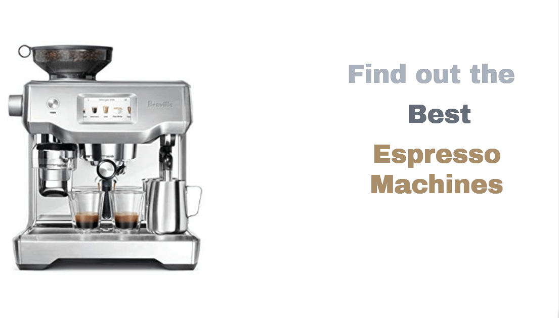 best espresso machines for 2019