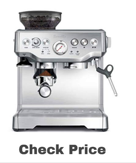 Breville the Barista Express on amazon - best espresso machines