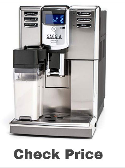 Gaggia Anima Prestige Automatic Coffee Machine on Amazon - best espresso machines
