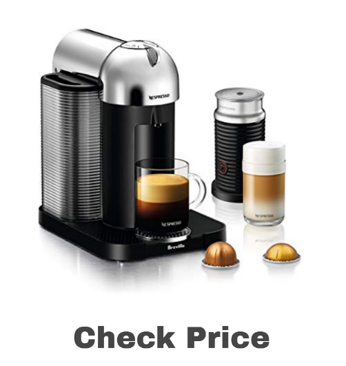 Nespresso Vertuo Coffee and Espresso Machine on amazon - best espresso machines