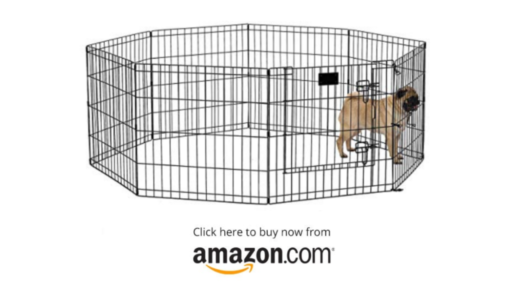 MidWest Exercise Pen / Pet Playpens | 8-Panels Each w/ 5 Height Options Ideal for Any Dog Breed - Pet Supplies - Amazon.com
