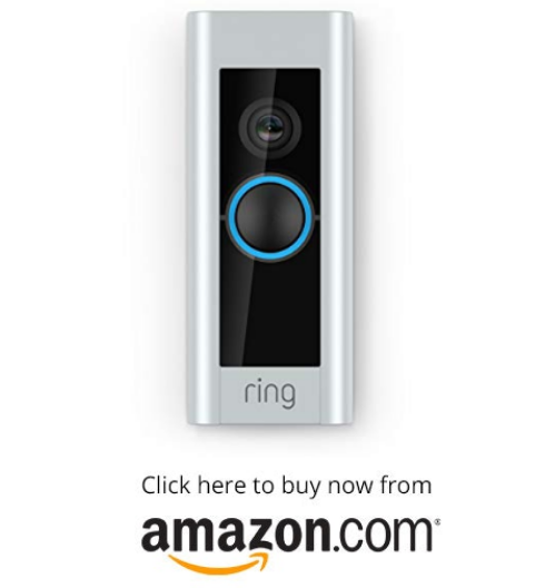 Ring Video Doorbell Pro, with HD Video, Motion Activated Alerts, Easy Installation (existing doorbell wiring required) on amazon