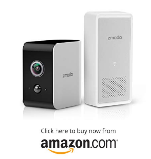 Zmodo Snap True Wire-Free Security Camera System, 180 Wide Angle, 1080p Full HD, Instant Motion Alert, Cloud Service Available on amazon