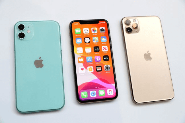 Apple iPhone 11 colors in photos