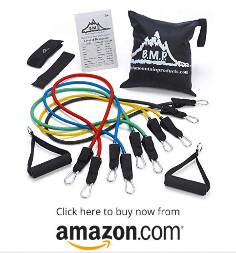 HUISEN Exercise Resistance Bands for Legs on amazon