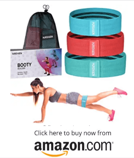 Hurdilen Resistance Bands Loop Exercise Bands Booty Bands on amazon