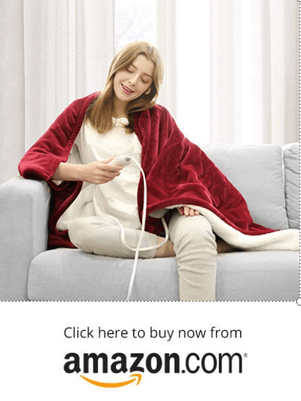 WAPANEUS Electric Heated Blanket on amazon
